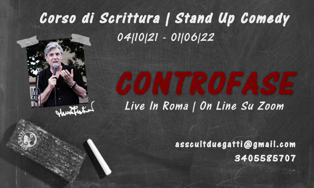 Corso Scrittura Stand Up Comedy - Mauro Fratini - Roma